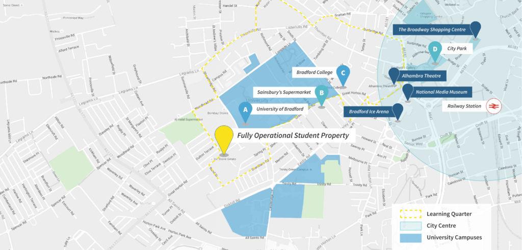 Новый студенческий комплекс Scholar's Village в городе Бредфорд 7