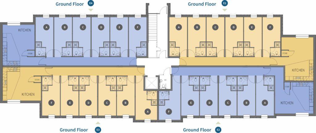 Новый студенческий комплекс Scholar's Village в городе Бредфорд 8