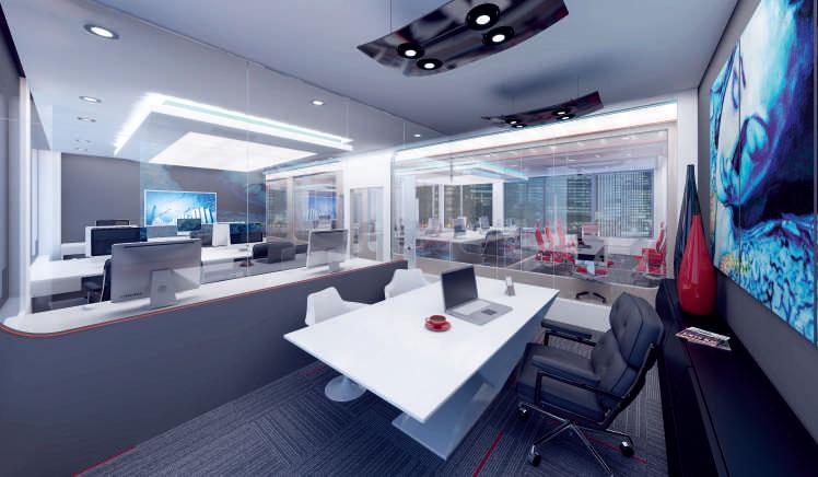 Regent 88 - современный бизнес-центр Лондона 9