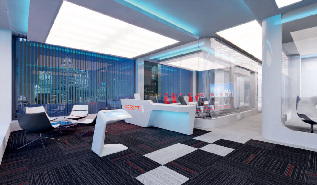 Regent 88 - современный бизнес-центр Лондона 1