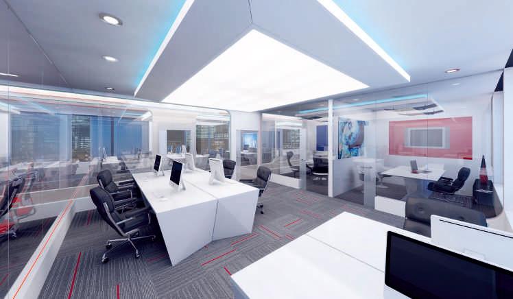 Regent 88 - современный бизнес-центр Лондона 4