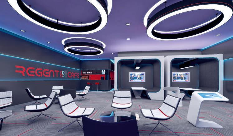 Regent 88 - современный бизнес-центр Лондона 7