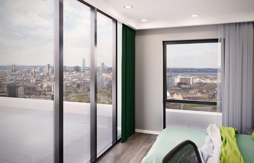 Современная студенческая недвижимость в квартале знаний Ливерпуля 6